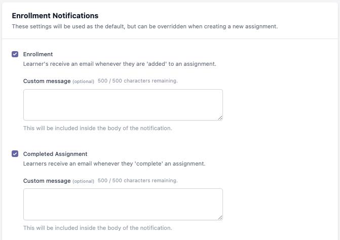 MYCA Assignments Enroll Notif 1