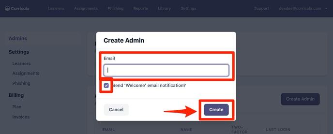 MYCA Create Admin 2
