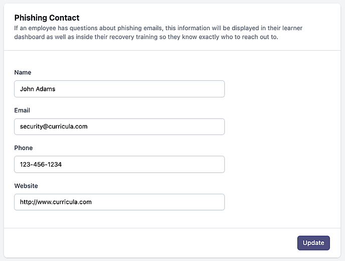 MYCA Phish Contact
